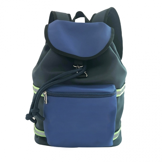 Drawstring Casual PU Backpacks