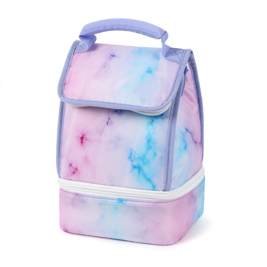 Marble School Lunch Bags