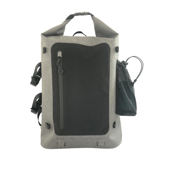 Grey Durable Dry Backpacks
