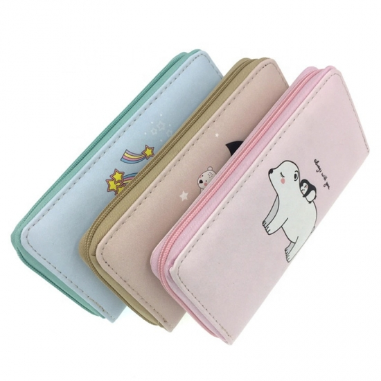 Cute Bear PU Wallet