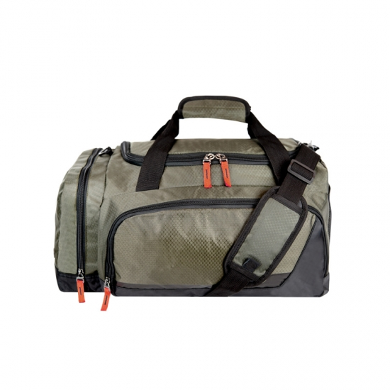 U Shape Zipper Sports Duffel Bags